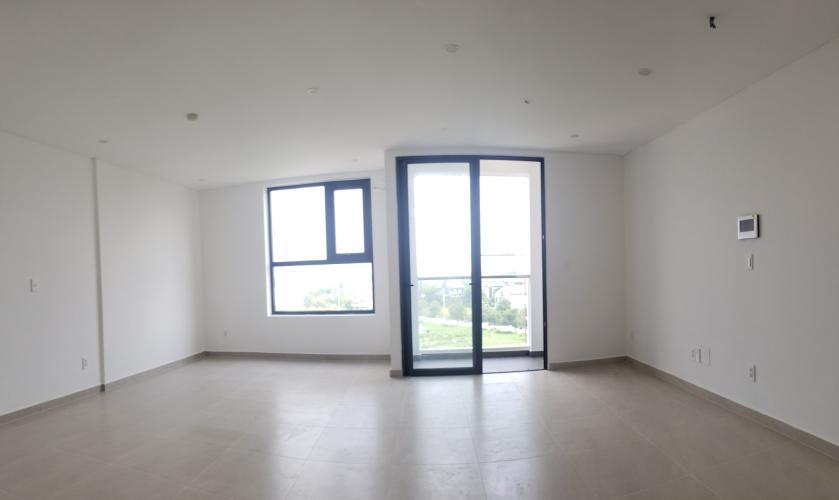 Bán căn hộ Office-tel Thủ Thiêm Dragon tầng trung, 1 phòng ngủ, diện tích 42m2, không có nội thất.