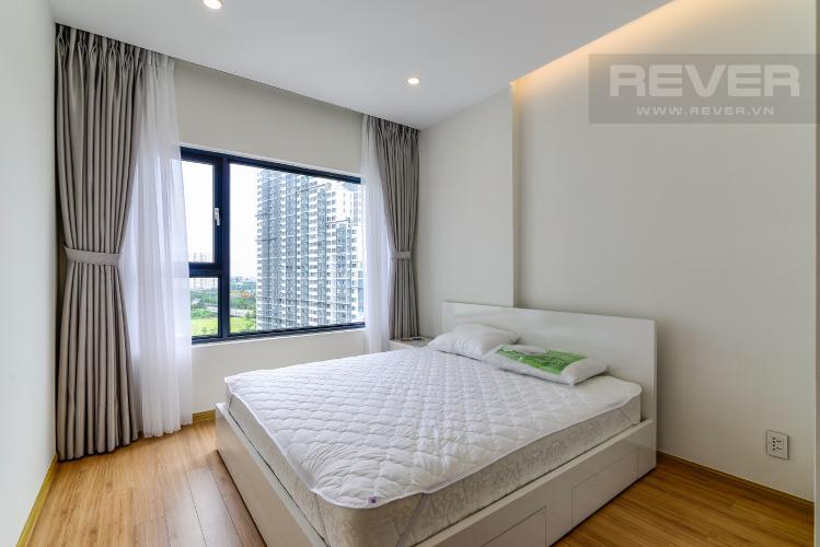 Phòng Ngủ 2 Cho thuê căn hộ New City Thủ Thiêm tầng trung, 3PN đầy đủ nội thất, view hồ bơi