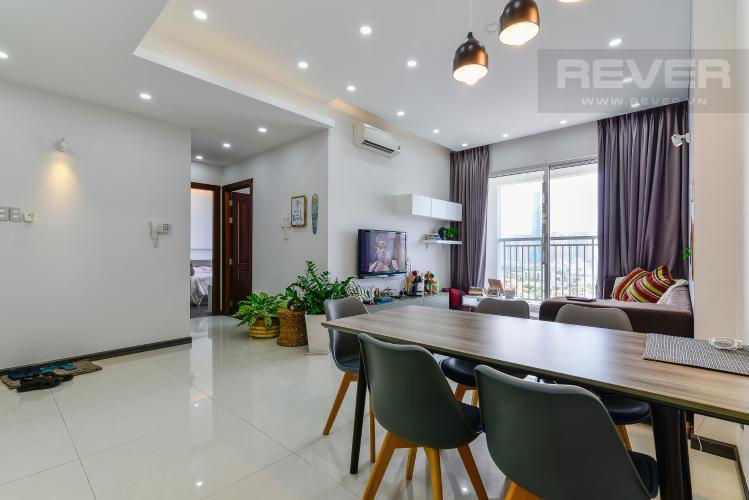 Phòng Khách Bán căn hộ Tropic Garden 2PN, đầy đủ nội thất, view sông Sài Gòn và Landmark 81