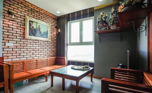 Căn hộ The Park Residence tầng cao, 2PN, đầy đủ nội thất