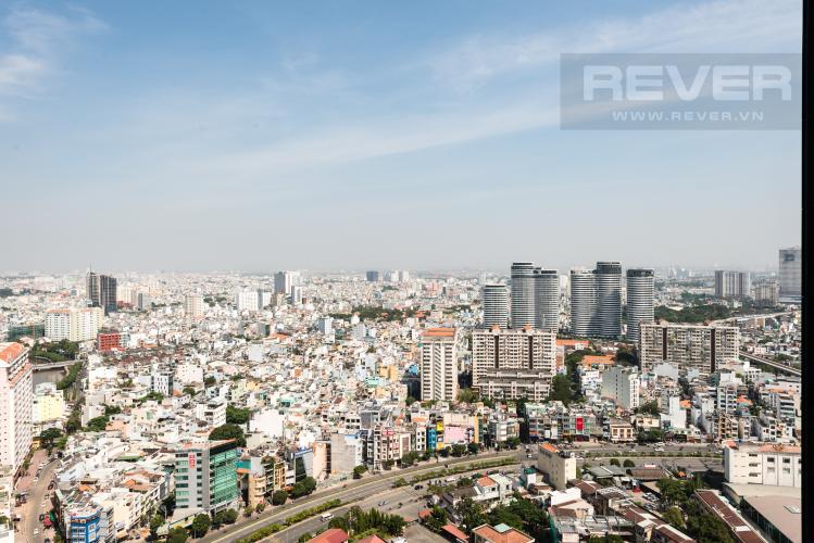 View Căn officetel Vinhomes Golden River tầng cao, nội thất đầy đủ, cho thuê giá tốt