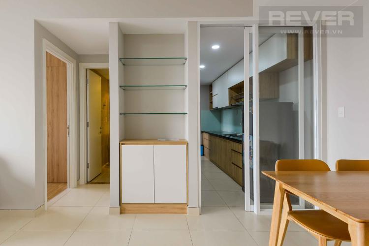 Phòng Khách Cho thuê căn hộ Masteri Thảo Điền tầng cao tháp T5, 2PN 2WC, đầy đủ nội thất, view sông Sài Gòn