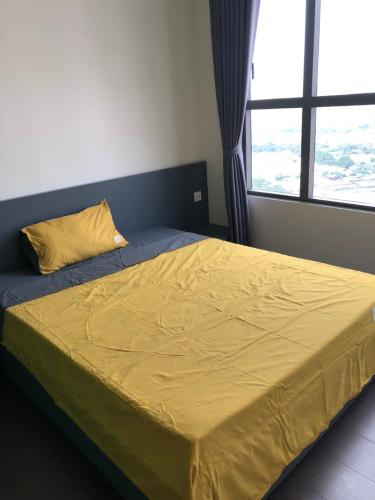 phòng ngủ căn hộ  2+1phòng ngủ the sun avenue Căn hộ The Sun Avenue tầng trung, kèm nội thất đầy đủ.