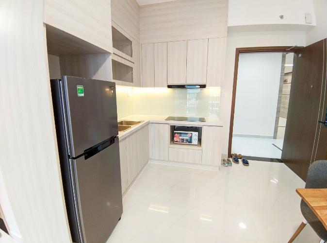 Bếp căn 2PN Safira Cho thuê căn hộ Safira Khang Điền đầy đủ nội thất, view nội khu.