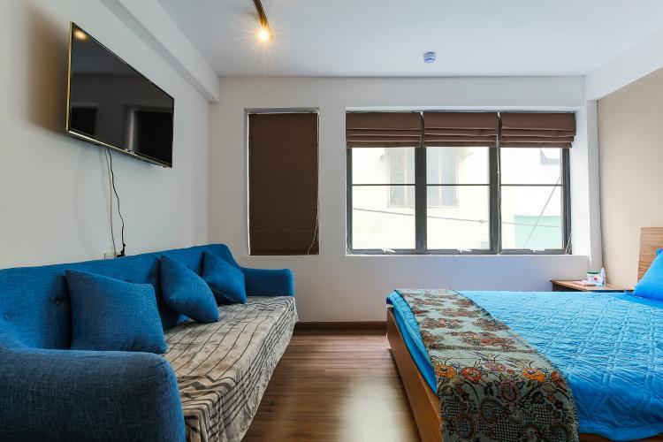 Căn hộ dịch vụ 1 phòng ngủ đường Cao Thắng diện tích 32m2