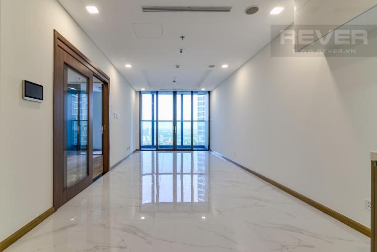 Phòng Khách Căn hộ Vinhomes Central Park tầng cao, tháp Landmark 81, 2PN, view hồ bơi