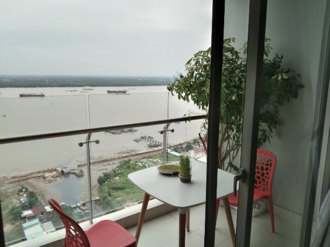 Căn hộ An Gia Riverside quận 7 Căn hộ tầng cao An Gia Riverside nội thất đầy đủ, view sông.