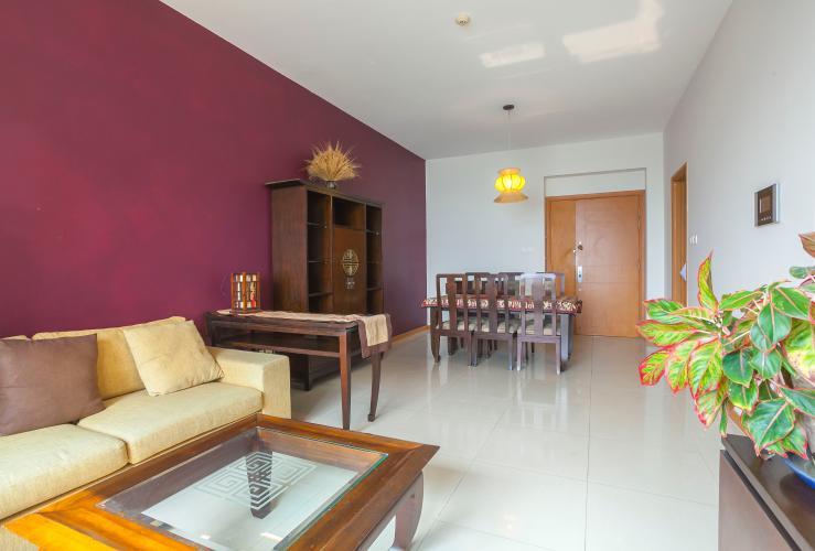 Căn hộ Saigon Pearl 2 phòng ngủ tầng cao Ruby 2 view sông