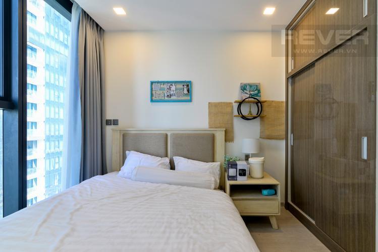 Phòng Ngủ Bán căn hộ Vinhomes Golden River 1PN tầng cao, đầy đủ nội thất, view sông thoáng mát