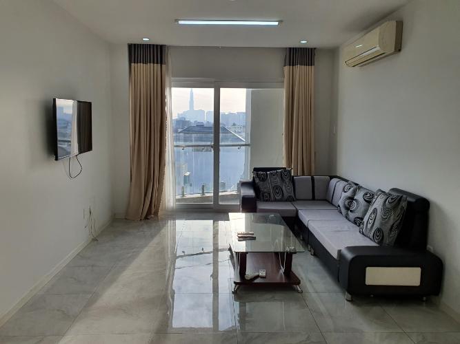 Phòng khách Sun Village Apartment, Bình Thạnh Căn hộ Sun Village Apartment hướng Tây Nam, đầy đủ nội thất.