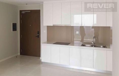 Cho thuê căn hộ Masteri An Phú 2PN, tầng cao, tháp A, nội thất cơ bản, view hồ bơi và Xa lộ Hà Nội