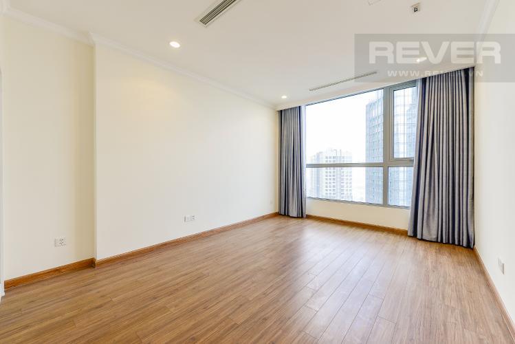 Phòng ngủ 1 Căn hộ Vinhomes Central Park tầng cao L1, 3 phòng ngủ nội thất cơ bản