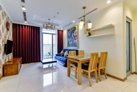 Căn hộ Vinhomes Central Park 2PN đầy đủ nội thất, có thể dọn vào ở ngay