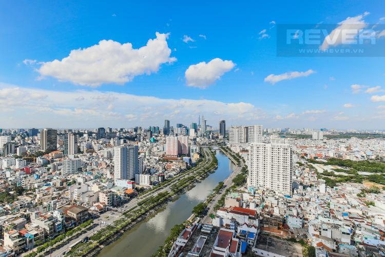 View Cho thuê căn hộ The Gold View tầng cao, 2PN, view đẹp, đầy đủ nội thất
