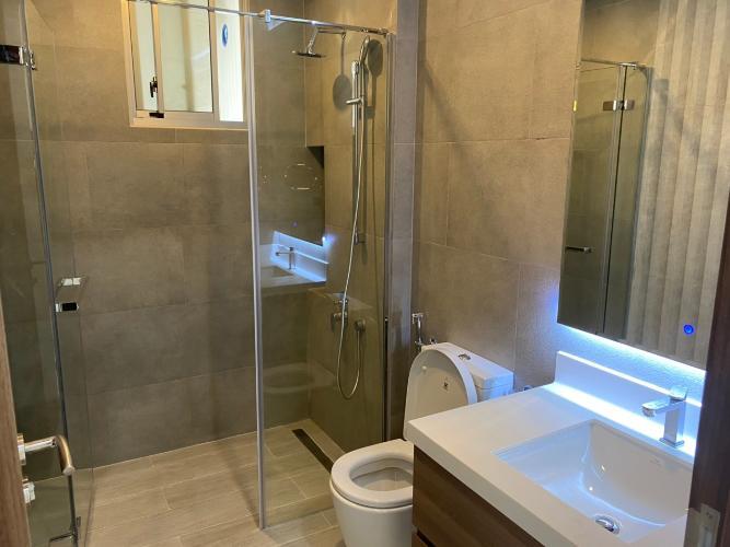 phòng vệ sinh căn hộ midtown Căn hộ Phú Mỹ Hưng Midtown tầng trung, nội thất cơ bản.