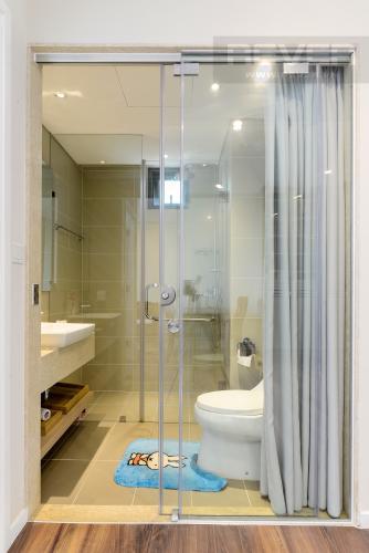 Phòng Tắm Cho thuê căn hộ Diamond Island - Đảo Kim Cương 1PN, tầng trung, tháp Hawaii, đầy đủ nội thất, view hồ bơi