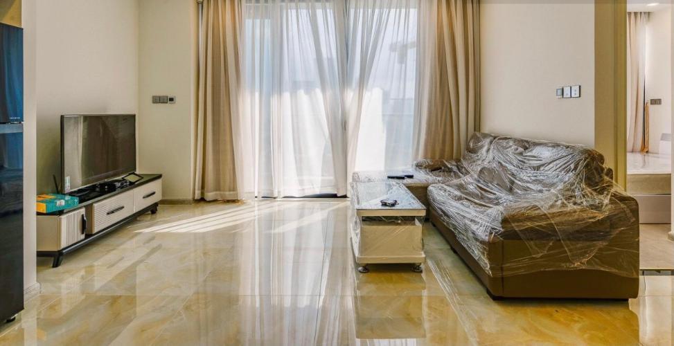 Phòng khách , Căn hộ vinhomes Golden River , Quận 1 Căn hộ Vinhomes Golden River tầng 6 ban công hướng Tây Nam thoáng mát.