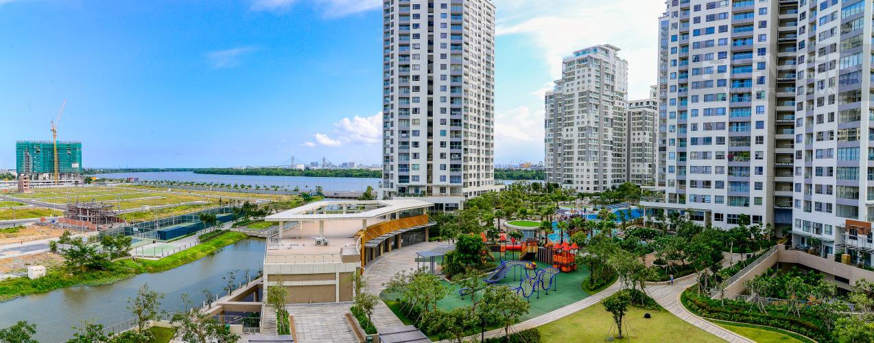 View Bán căn hộ Diamond Island - Đảo Kim Cương 1PN, tháp Canary, đầy đủ nội thất, view sông yên tĩnh