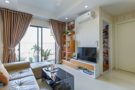 Căn hộ M-One Nam Sài Gòn 2 phòng ngủ tầng trung T1 view nội khu