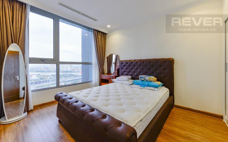 Phòng ngủ 3 Căn hộ Vinhomes Central Park 3 phòng ngủ tầng cao L1 nội thất đầy đủ
