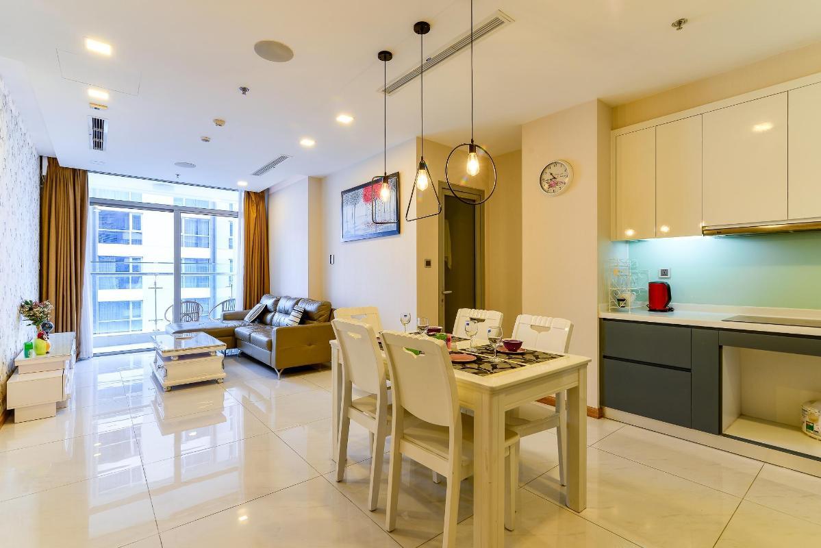 9a3c139f3210d44e8d01 Cho thuê căn hộ Vinhomes Central Park 2PN, tháp Park 6, đầy đủ nội thất, view mé sông