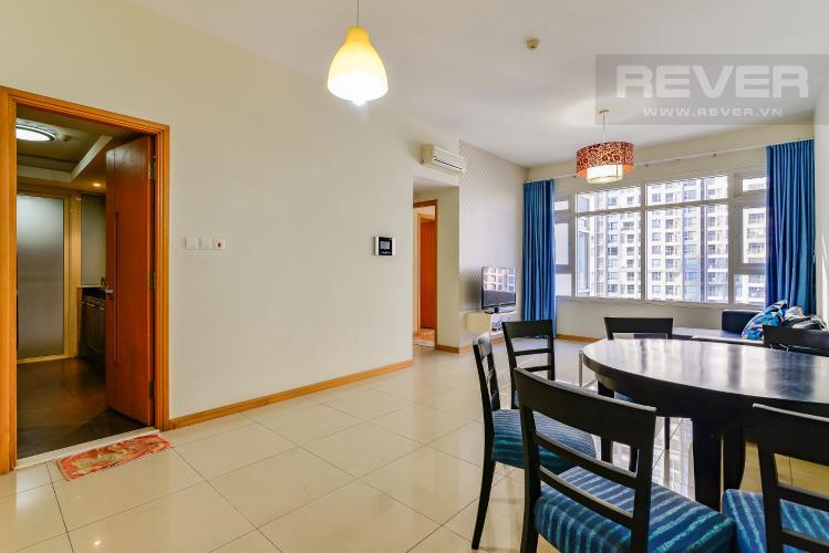 Phòng Khách Căn hộ Saigon Pearl 2 phòng ngủ tầng thấp R2 nội thất đầy đủ