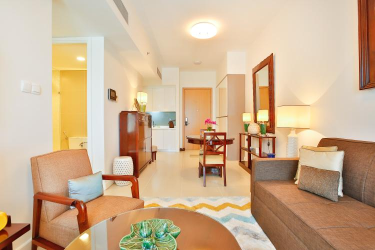 Căn hộ Gateway Thảo Điền 1 phòng ngủ tầng trung tháp B nội thất đầy đủ