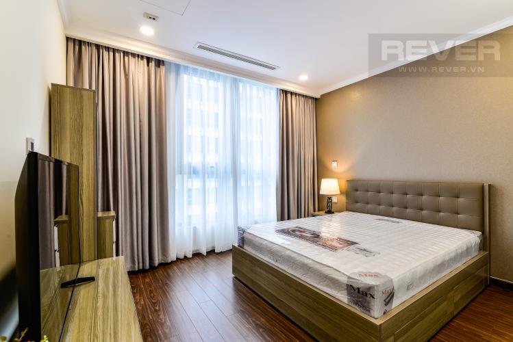 Phòng Ngủ 1 Căn hộ Vinhomes Central Park 3 phòng ngủ tầng cao L6 nội thất có sẵn