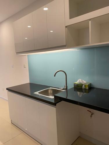Khu vực bếp Masteri Millennium Quận 4 Office-tel Masteri Millennium 1 phòng ngủ, nội thất cơ bản.