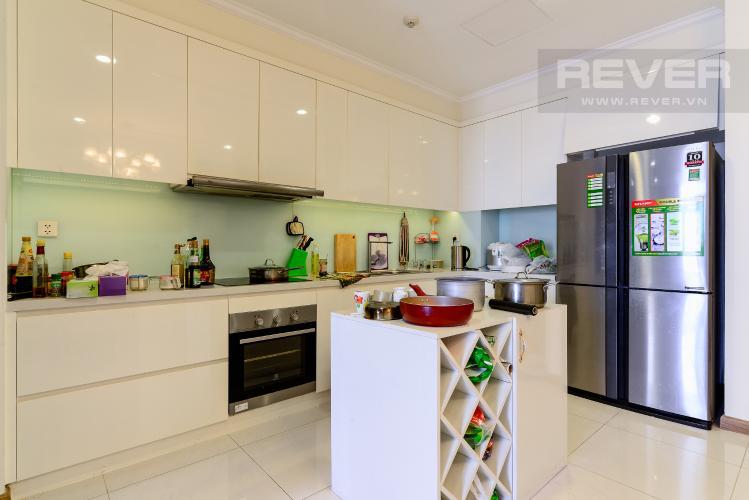 Nhà Bếp Cho thuê căn hộ Vinhomes Central Park 83.8m2, view sông thoáng mát, nội thất hạng sang