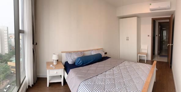 Cho thuê căn hộ Saigon Royal 2PN, tầng thấp, tháp A, đầy đủ nội thất, view sông và Bitexco