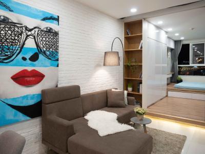 Bán hoặc cho thuê căn hộ Lexington Residence 1PN, diện tích 48m2, đầy đủ nội thất