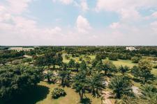 Flycam: Mảng xanh khổng lồ phủ kín dự án Everde City