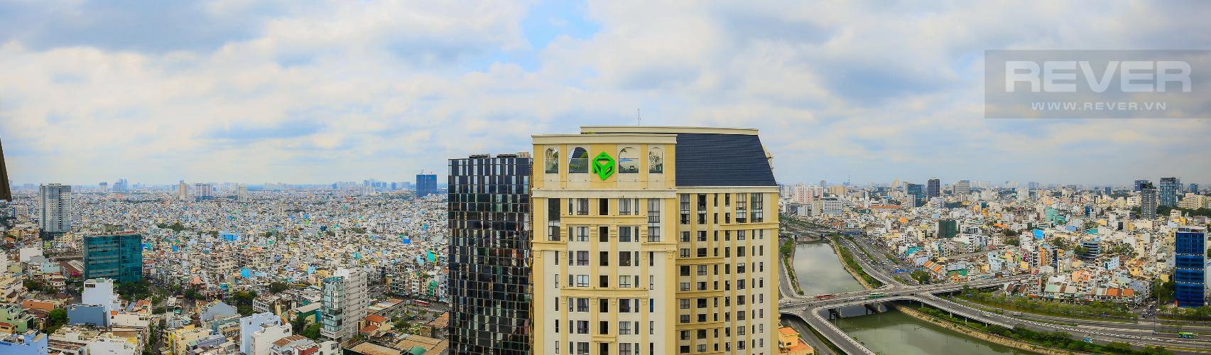 View Căn góc The Tresor 3 phòng ngủ tầng cao TS1 view sông