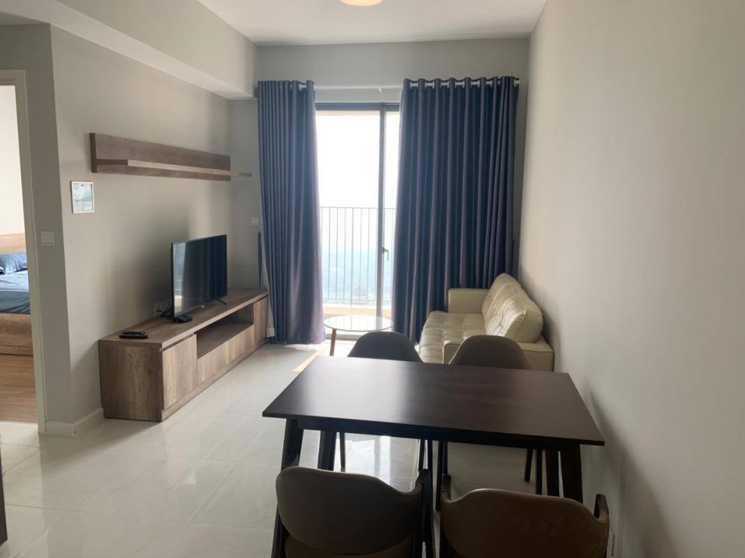 Phòng khách căn hộ Masteri An Phú Cho thuê căn hộ Masteri An Phú 2 phòng ngủ, tầng cao, đầy đủ nội thất