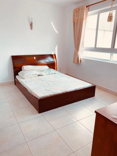 Phòng ngủ căn hộ chung cư Hùng Vương Plaza Căn hộ chung cư Hùng Vương Plaza đầy đủ nội thất, 3 phòng ngủ.