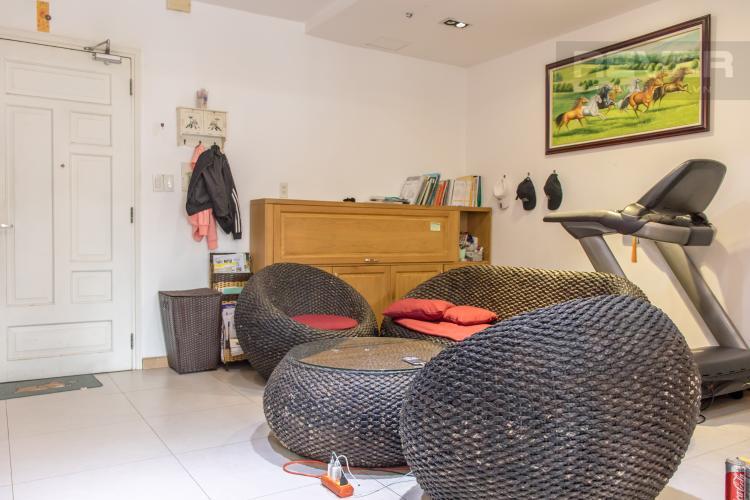 Phòng Khách 2 Bán căn hộ Chung cư Khánh Hội 3, 2PN, tầng 1, đầy đủ nội thất, view trực diện sông