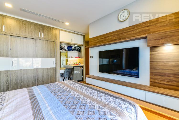 Phòng Ngủ 4 Căn hộ Vinhomes Central Park 4 phòng ngủ tầng thấp P2 view sông