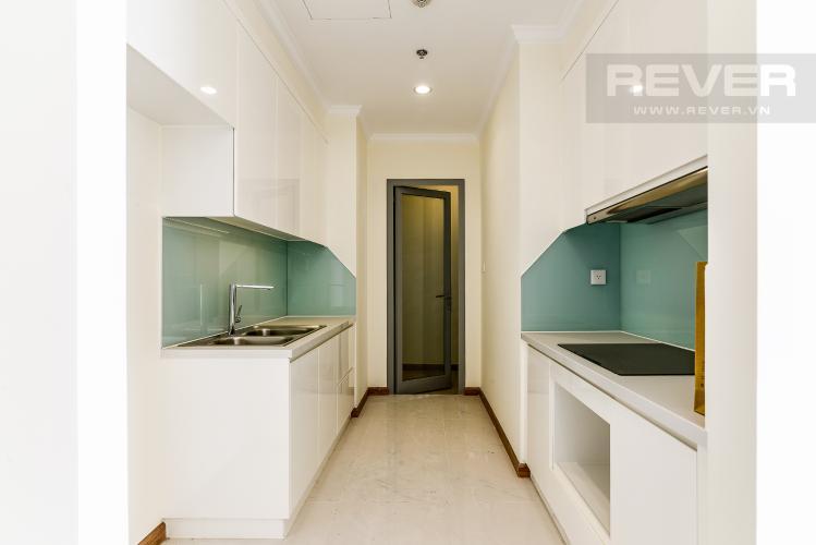 Nhà Bếp Căn hộ Vinhomes Central Park 3 phòng ngủ tầng cao L2 view sông