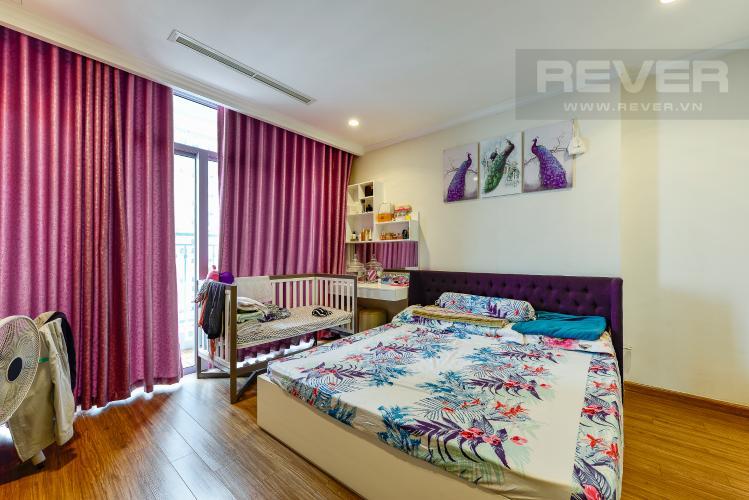 Phòng ngủ 2 Căn hộ Vinhomes Central Park 4 phòng ngủ tầng trung C2 view sông