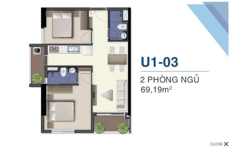 Căn hộ Q7 Saigon Riverside nội thất cơ bản, tiện ích đa dạng.