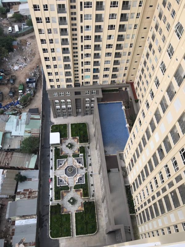 d67b81651c02fa5ca313 Bán căn hộ Saigon Mia 2 phòng ngủ, nội thất cơ bản, diện tích 55m2, view thoáng