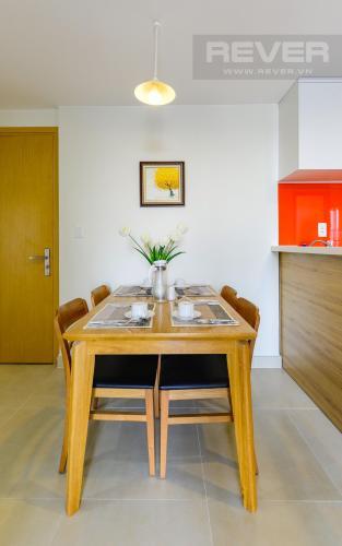 Phòng Ăn Căn góc Masteri Thảo Điền 2 phòng ngủ tầng cao T1 nội thất đầy đủ