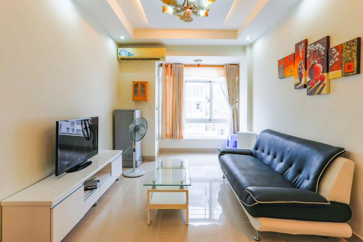 Căn hộ Sky Garden 2 phòng ngủ tầng thấp nội thất đầy đủ