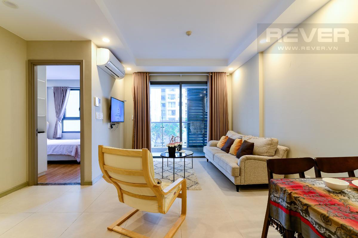 _DSC4717 Bán căn hộ The Gold View 1 phòng ngủ, diện tích 50m2, đầy đủ nội thất, view hồ bơi, hướng Tây Nam