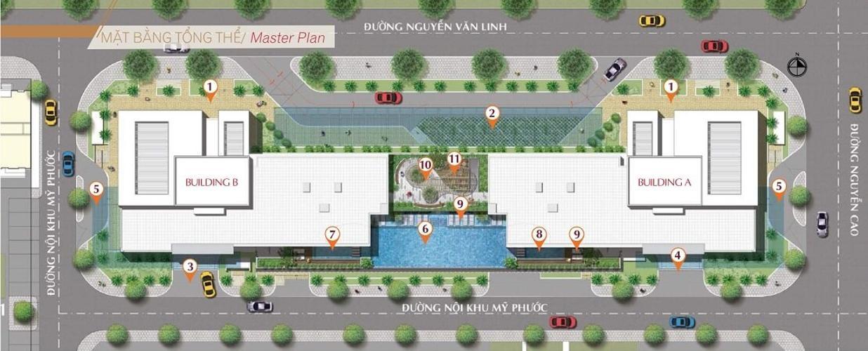 mặt bằng dự án Urban hill Bán căn hộ Urban Hill sắp được bàn giao, dự án đầu tư kỹ lưỡng.