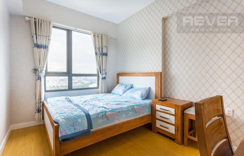 Phòng ngủ 2 Căn hộ Masteri Thảo Điền tầng cao, view đẹp tháp T5