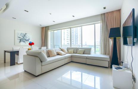 Căn hộ The Estella Quận 2 tầng trung 3 phòng ngủ đầy đủ tiện nghi