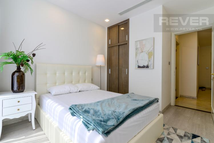 Phòng Ngủ 2 Cho thuê căn hộ Vinhomes Golden River 2PN, tầng cao, tháp The Aqua 1, đầy đủ nội thất