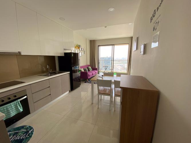 Bán căn hộ Masteri Millennium 2 phòng ngủ, tầng cao, diện tích 65m2, đầy đủ nội thất